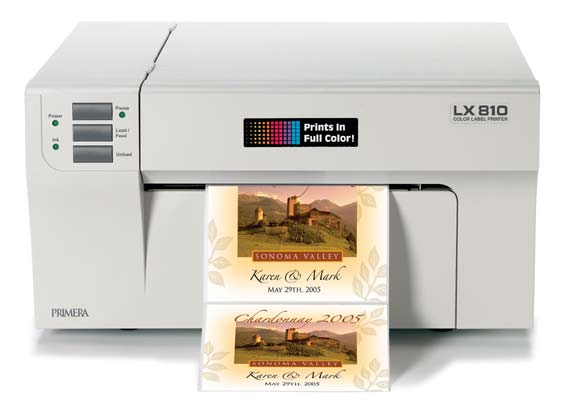 Primera LX810 Label Printer