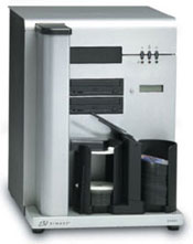 Rimage 2000i Series II CD DVD Duplicator and inkjet printer.